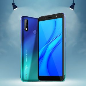 ITEL A36 GRADATION BLUE