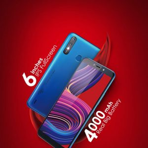 ITEL A56 GRADATION BLUE