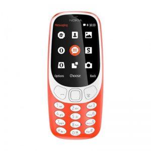 NOKIA 3310 DS WARM RED