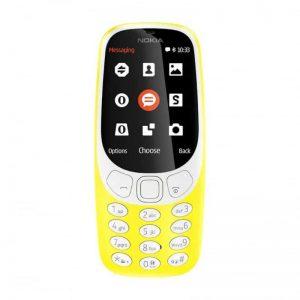 NOKIA 3310 DS YELLOW