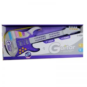 GUITAR LIGHT AND MUSIC- PURPLE